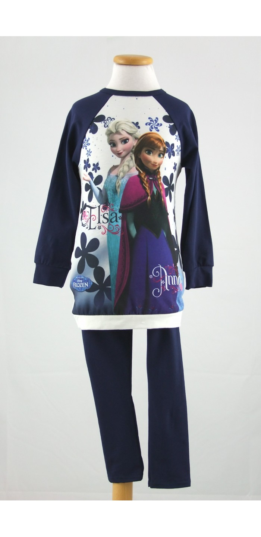 Completo Abito Leggings Frozen Disney 35041