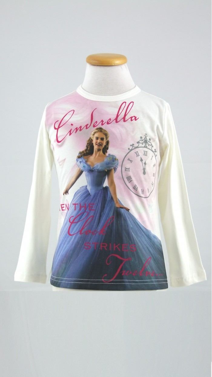 Maglietta Cinderella Disney 15022