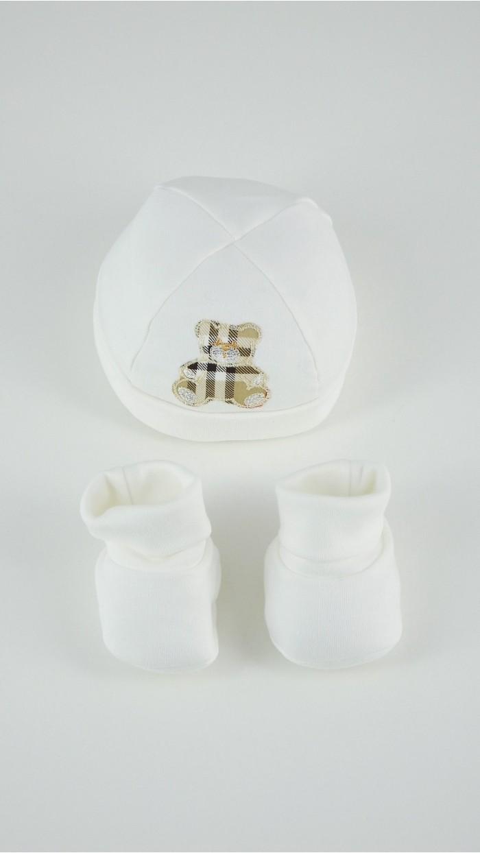 Cuffia Calze Neonato Ciliegina 292022
