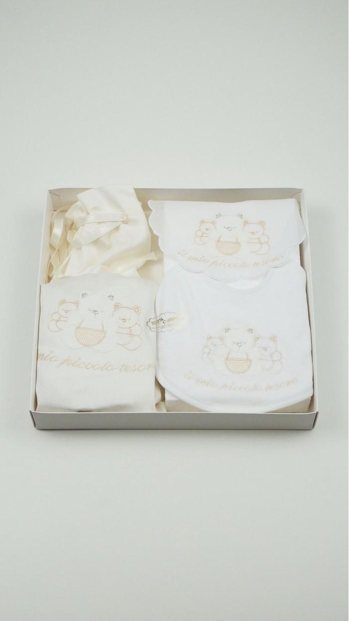 Set Bavaglino Sacco Porta Corredino 18412