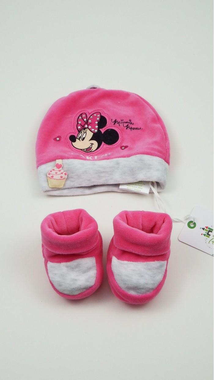 Cuffia Calze Neonata Disney PCD71M1
