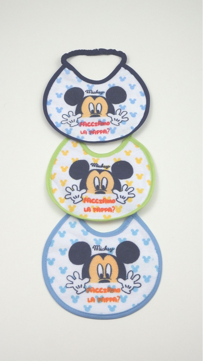 Bavaglino Neonato Disney 16M
