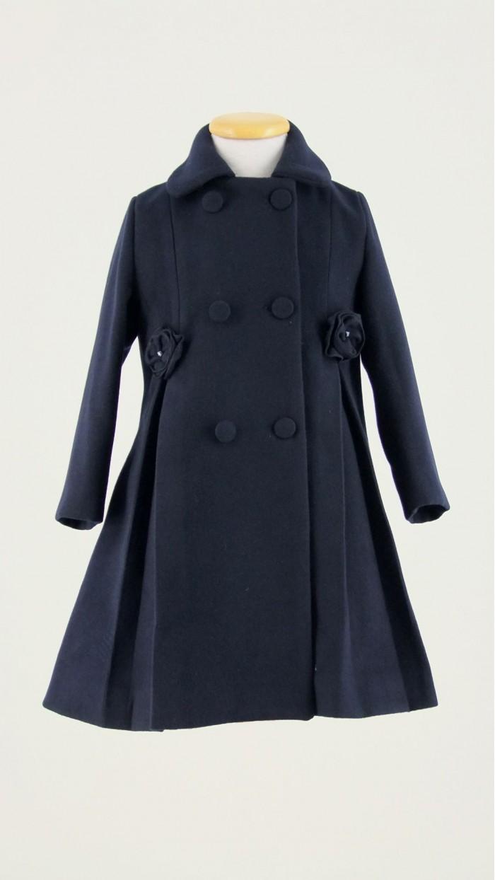 Cappotto Bambina Bolle di Sapone B1001