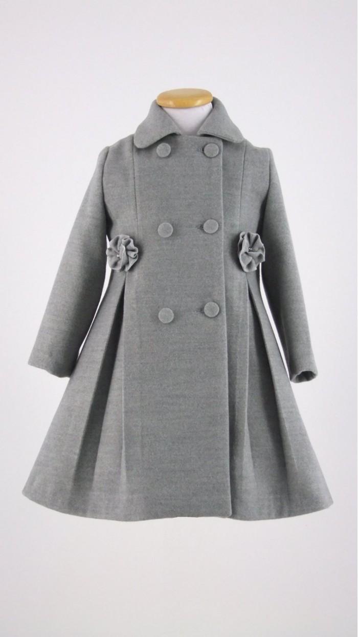 Cappotto Bambina Bolle di Sapone B1002