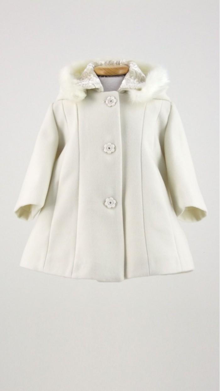 Cappotto Neonata Bolle di Sapone B101