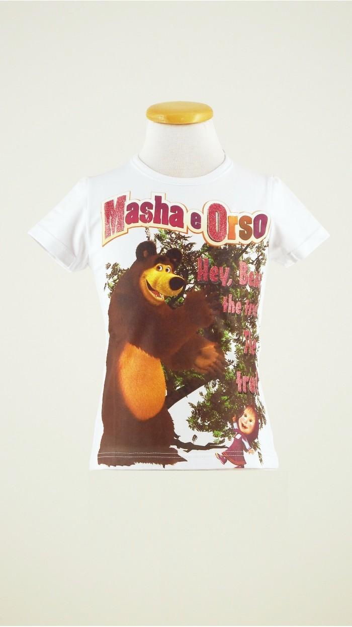T Shirt Masha e Orso 118K1