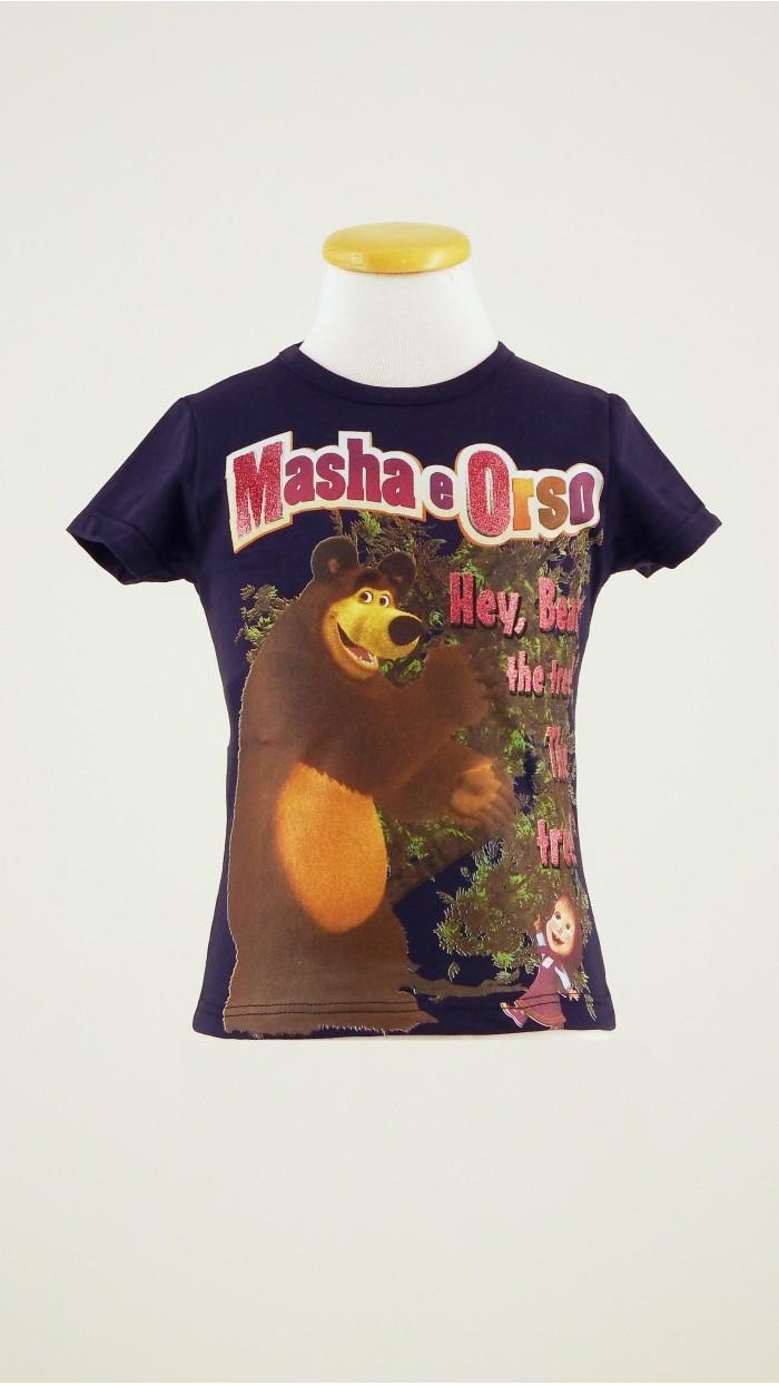 T Shirt Masha e Orso 118K2