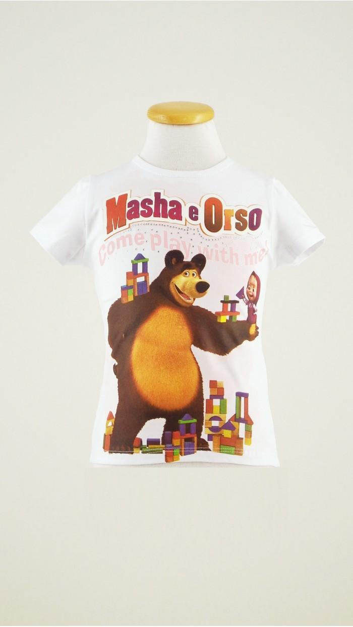 T Shirt Masha e Orso 119K2