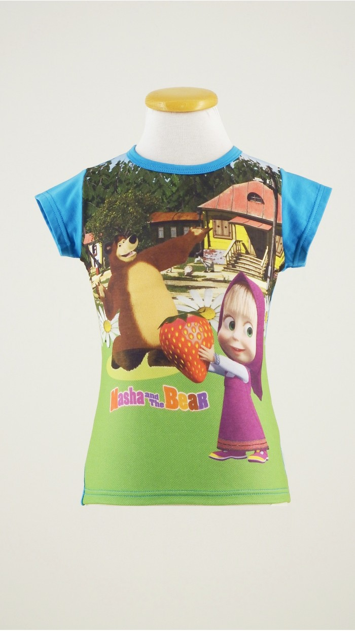 T Shirt Masha e Orso 131