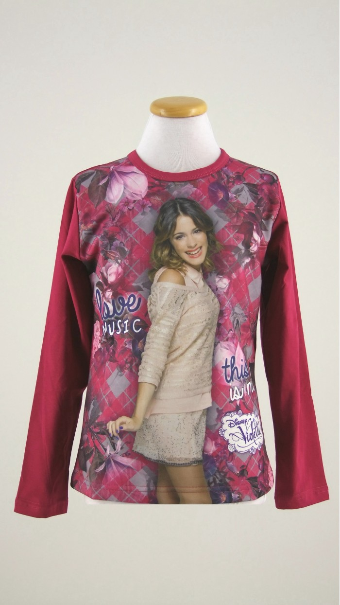 Maglietta Disney Violetta 40003
