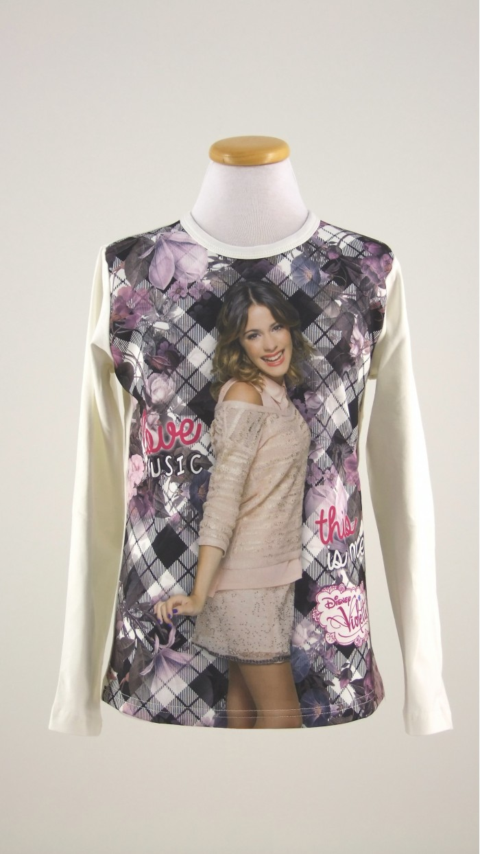 Maglietta Disney Violetta 40004