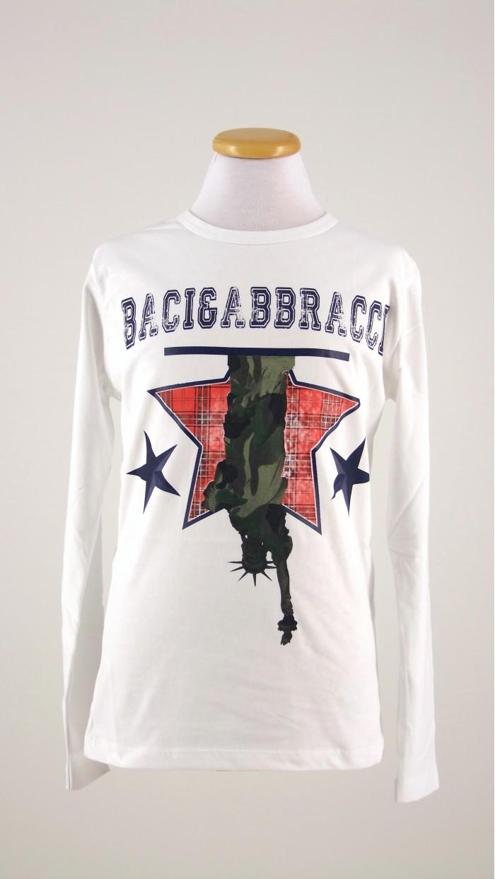 Maglietta Baci e Abbracci 15175