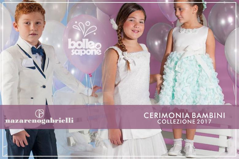 31aed8882bf0d Novità Abiti Cerimonia Bambino Bambina Primavera Estate 2017. Bolle di  Sapone Abbigliamento ...