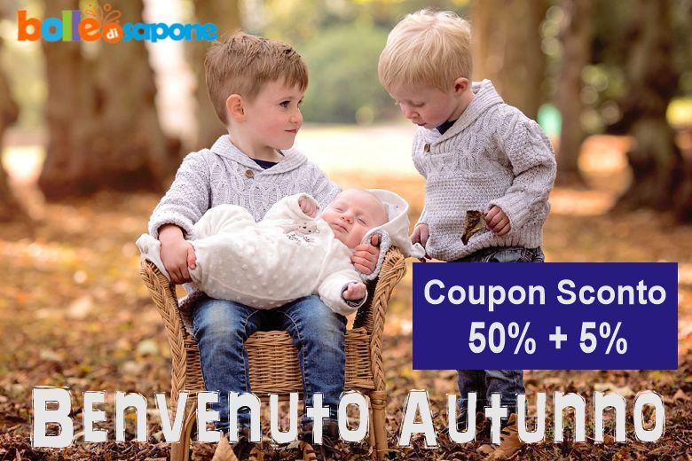 Coupon Sconto Abbigliamento Neonati e Bambini Autunno 2020 - Bolle di Sapone®