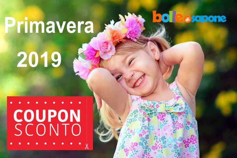 Coupon Sconto 50+10% Primavera 2019 - Bolle di Sapone Abbigliamento Bambini