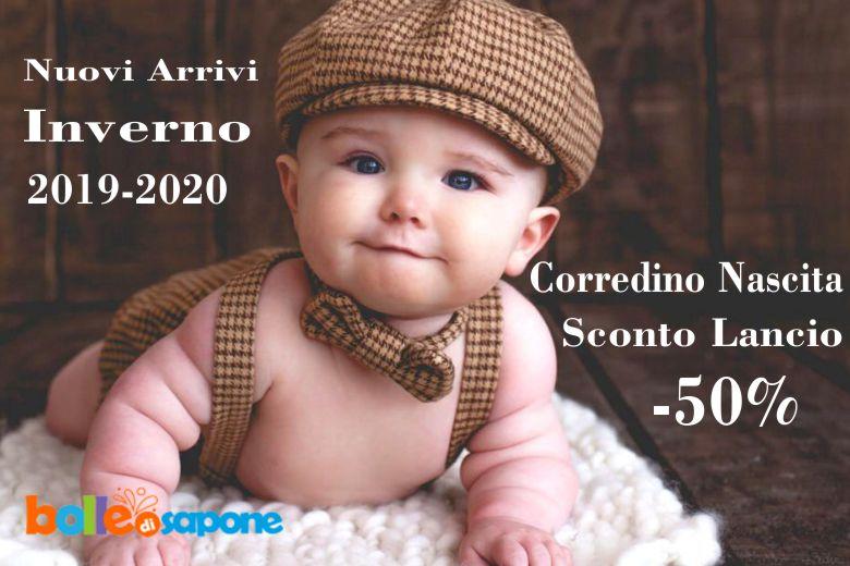 Tutti i Nuovi Arrivi per il Corredino Nascita Autunno Inverno 2019-2020- Bolle di Sapone Abbigliamento Bambini