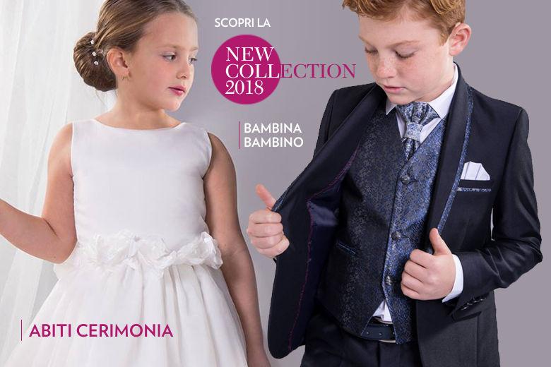 Abiti Cerimonia Bambino Bambina Tutti i Nuovi Arrivi Primavera Estate 2018  - Abbigliamento Bambini Bolle di 4694bd81dc5