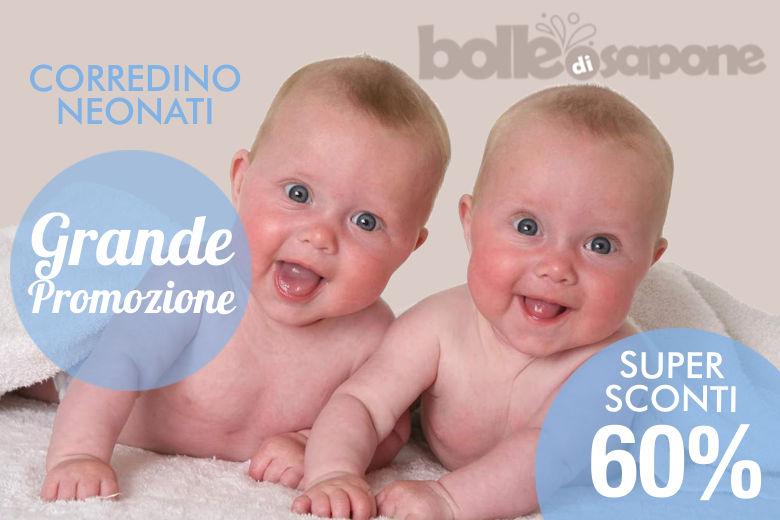 Grande Promozione Corredino Neonato - Bolle di Sapone