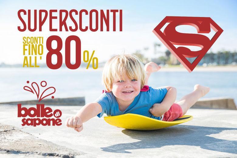 E' Arrivata l'estate Con la Super Promozione dal -50% al -80% - Bolle di Sapone Abbigliamento Bambini