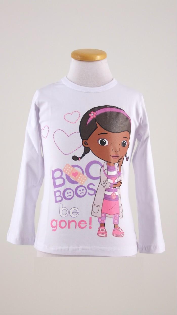 Disney dottoressa peluche abbigliamneto bambini bolle di
