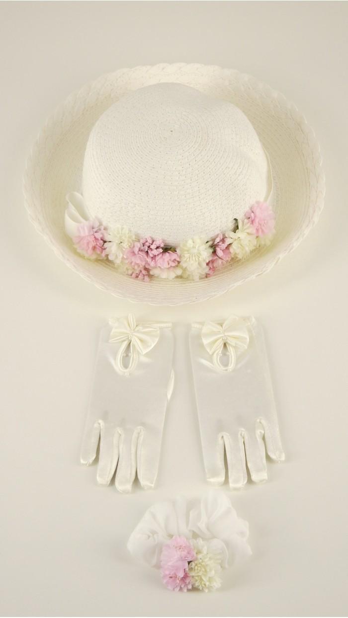 Cappello Bambina Cerimonia 3140B