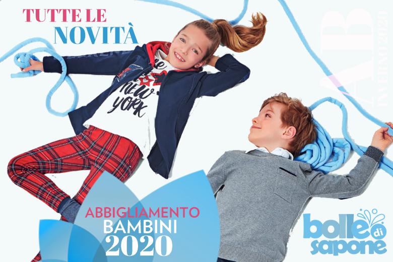 Novità Moda Abbigliamento Bambini Inverno 2020 - Bolle di Sapone Abbigliamento